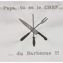 Tablier Chef du barbecue