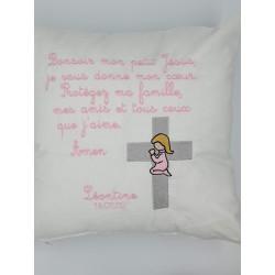 Coussin prière des petits...