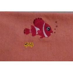 Fouta poisson rouge