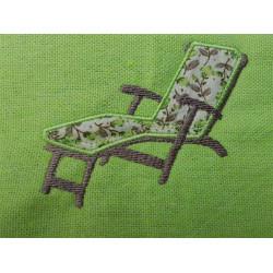 Fouta chaise longue