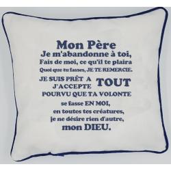 Coussin Prière Charles de...