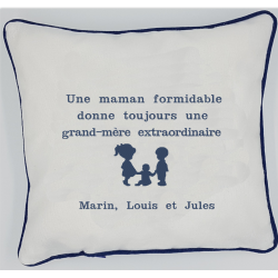 Coussin Une maman...