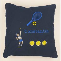 Coussin sur le thème du tennis