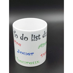 "Tasse ""to do list"""