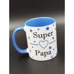 """Tasse """"SUPER PAPA"""" anse..."""
