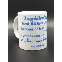 """Tasse """"Ingrédients pour une..."""