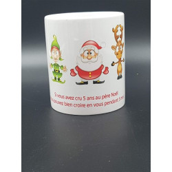 "Pot à crayons ""Père Noël"""