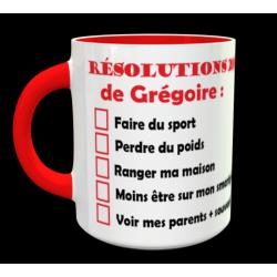 """Tasse """"Résolutions 2019""""..."""