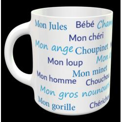 """Tasse """"surnoms d'amoureux..."""