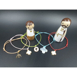 Bracelet cordon avec pendentif