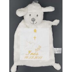 Peluche, agneau baptême...