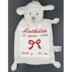 Peluche, agneau Naissance