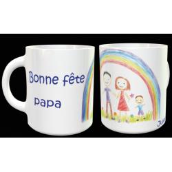 """Tasse """"Bonne fête Papa""""..."""
