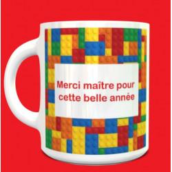Tasse Merci maître LEGO...