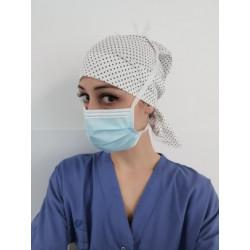 Calot de bloc pour infirmière