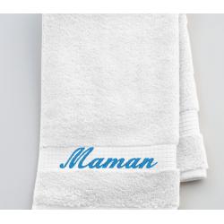 Serviette de toilette Maman